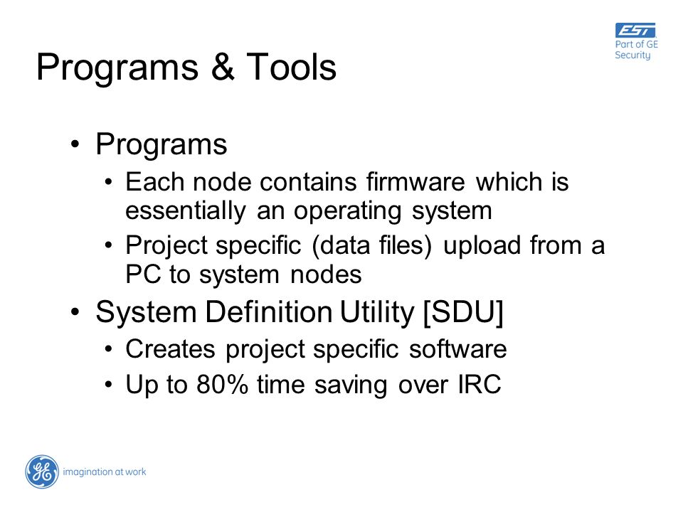 Programs & Tools Programs System Definition Utility [SDU]